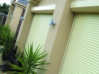 Outdoor White Shutters