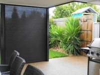 Dark Outdoor Blinds