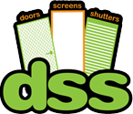 Doors Screens Shutters logo